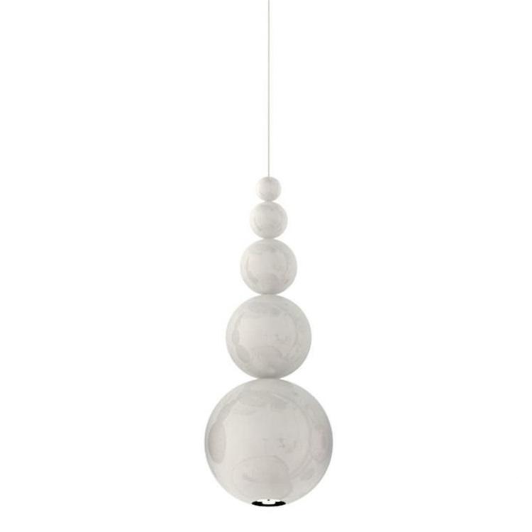 Bubble lampa wisząca 1x25W GU10 230V biała