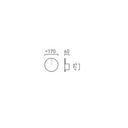 Orionis NW Kinkiet LED 1x6.5W C03 - biały