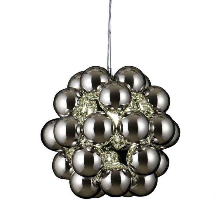 Beads lampa wisząca 1x100W E27 230V chrom
