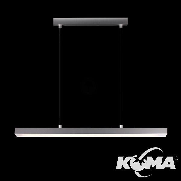 Thiny Slim 90 lampa wisząca 1x21/39W T5 230V aluminium