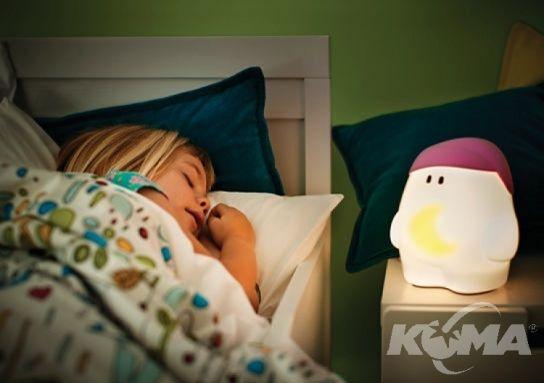 My buddy lampka nocna 2x1W led h17.4cm rozowy