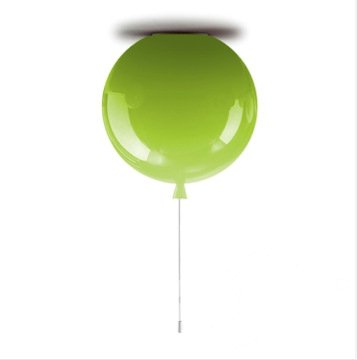 Memory 40 oprawa sufitowa 1x23W E27 40cm zielone jabłuszko