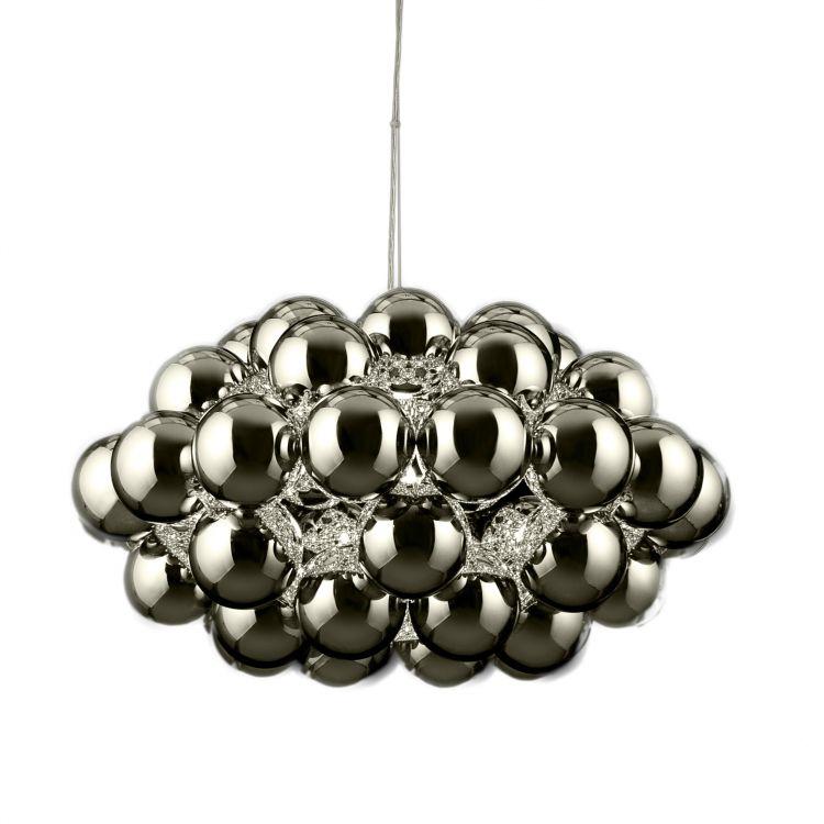 Beads 77 lampa wisząca 1x100W E27 230V chrom