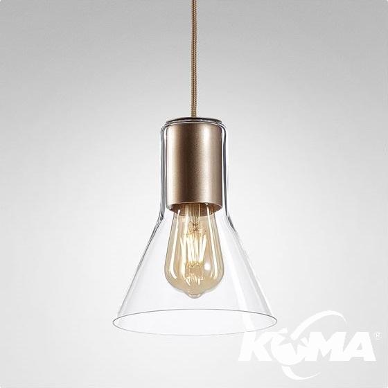 Glass Flared TP lampa wisząca Modern AQFORM