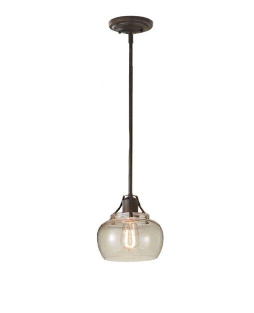 Lampa wisząca urban szklana1 x 60W E27