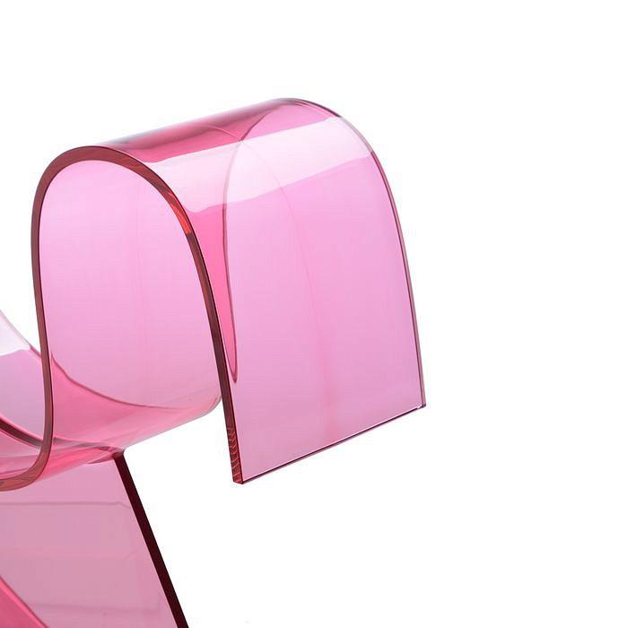 H-Horse koń na biegunach różowy