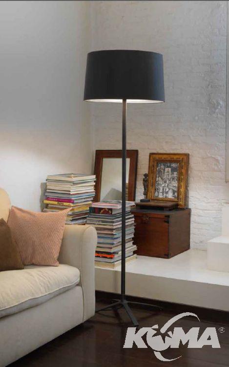lampa podłogowa biała Hall GROK