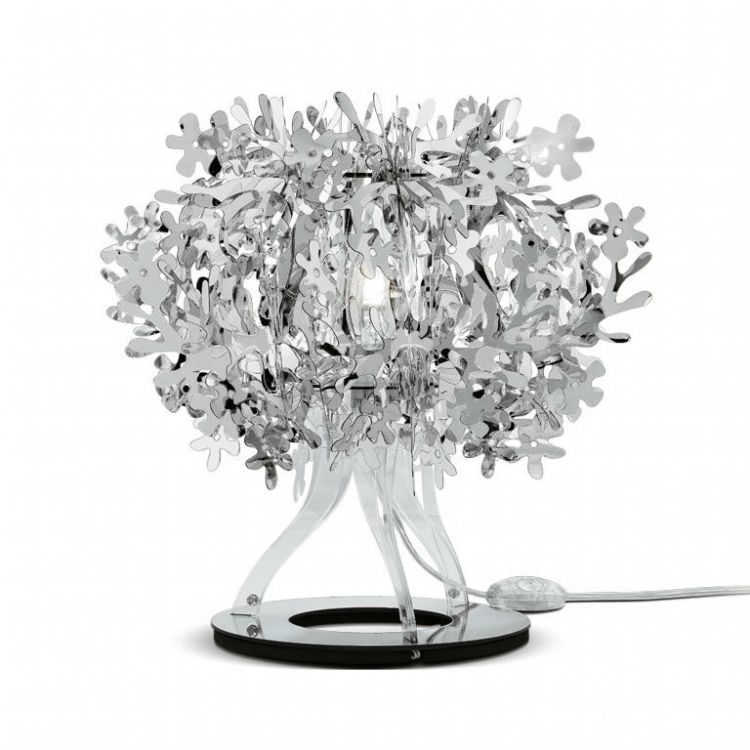 Fiorellina lampka stołowa E14/12W silver