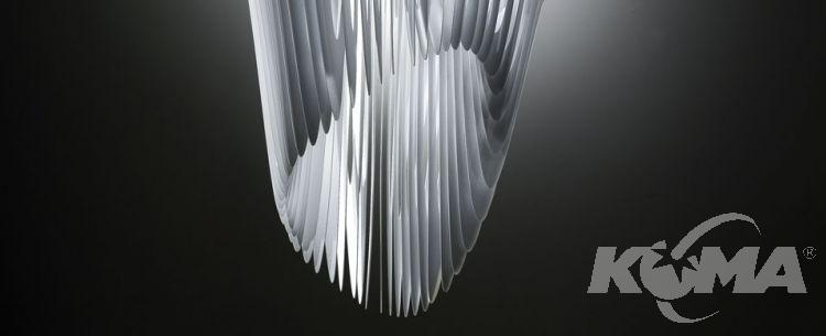 AVIA medium oprawa wisząca 3x52W + 1x50W E27 d52cm white