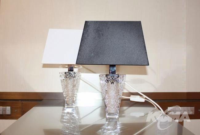 Vicky lampa stołowa 1x60W + 1x25w G9 czarny
