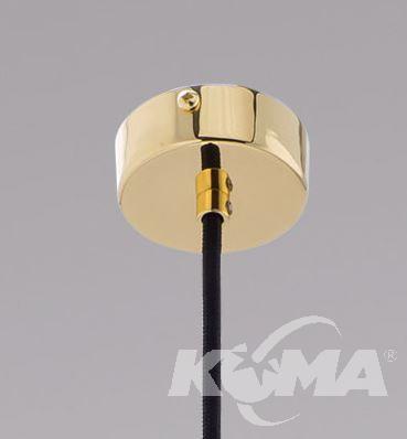 lampa chromowana LED Des KUTEK MOOD