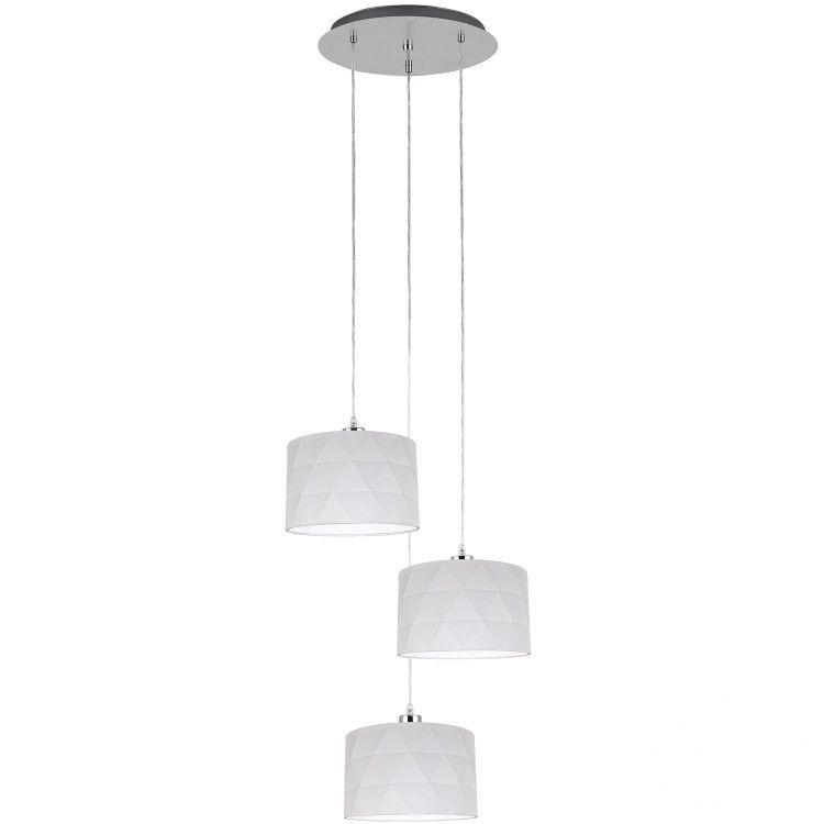 Dolorita lampa wisząca 3x60W E27 230V biała