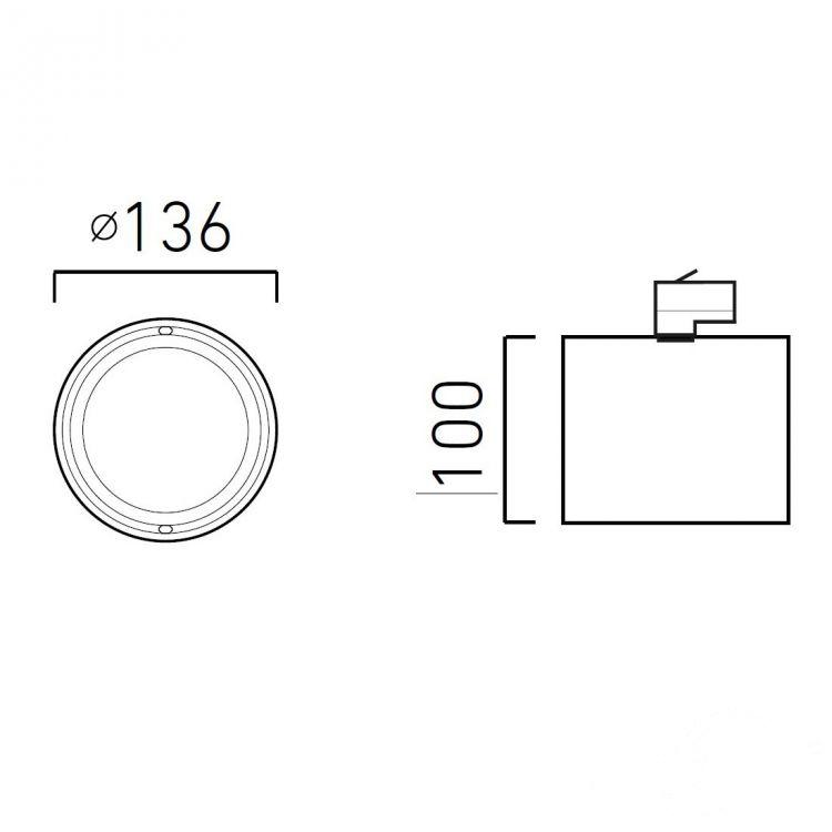 On L11 reflektor na szynoprzewód Optique CHORS