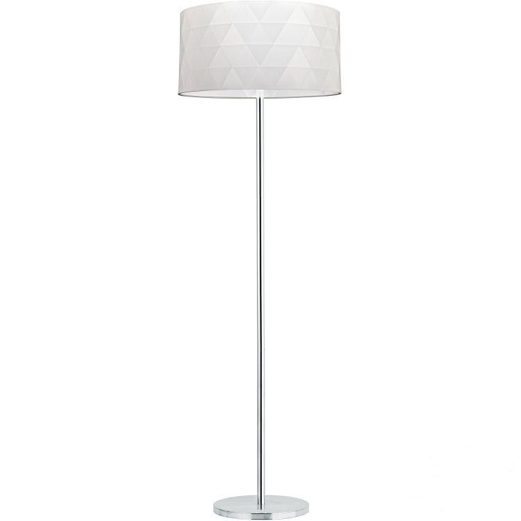 Dolorita lampa podłogowa 3x60W E27 230V biała