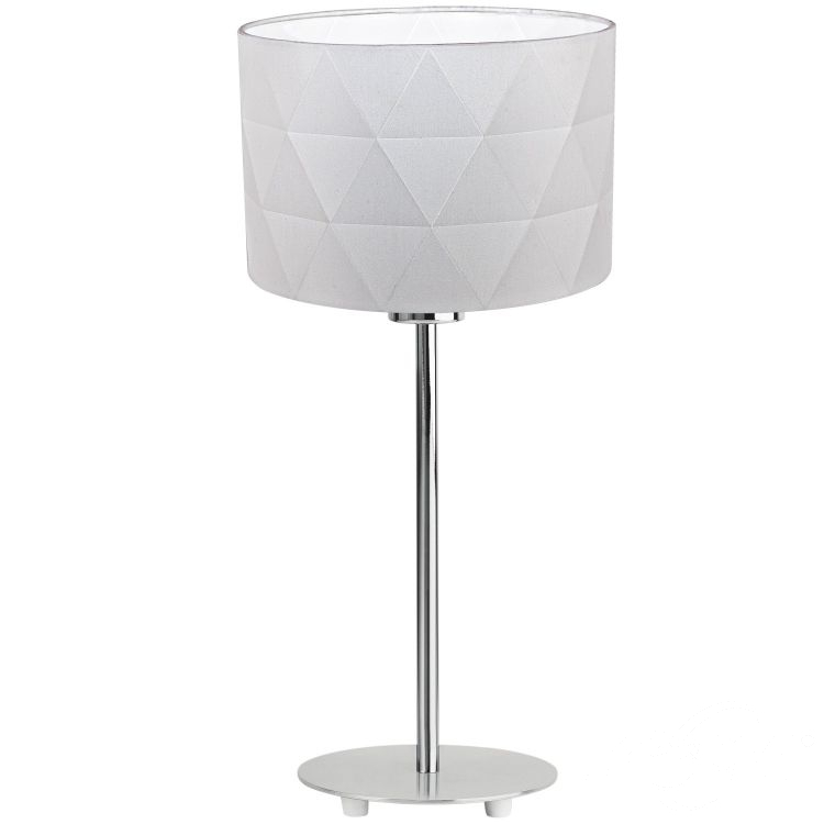 Dolorita lampa stołowa 1x60W E27 230V biała