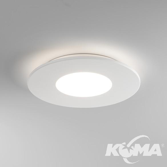 Zero Round plafon 16,6W LED 2700K 230V biały