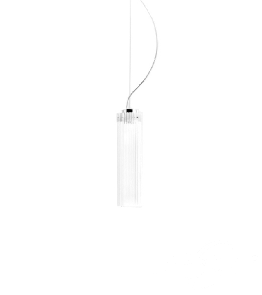 Rifly lampa wisząca IP44 10W LED 30cm kryształowa, indeks