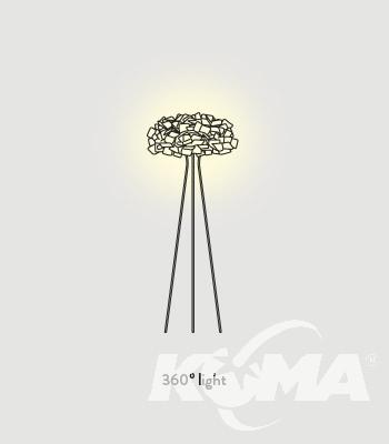 lampa podłogowa CLIZIA SLAMP