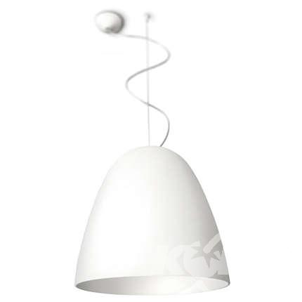 Glad lampa wisząca E27 1x20W biała
