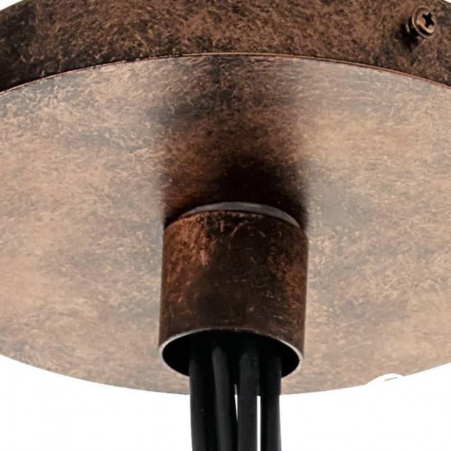 Priddy lampa wisząca 1x60W E27 czarny