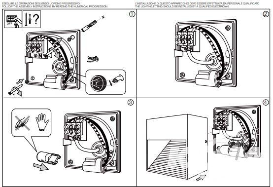 oprawa natynkowa zewnętrzna antracyt DOWN IDEAL LUX