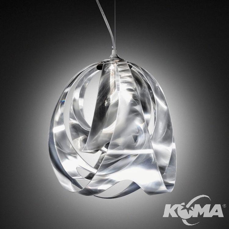 Goccia lampa wisząca 1x10W E27 230V pryzmatyczna