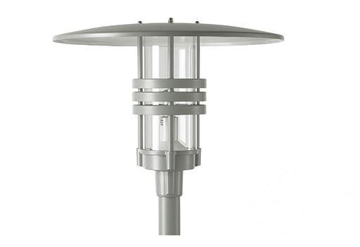 Visby aluminiowa oprawa słupowa 1x150W G12 IP65 a+