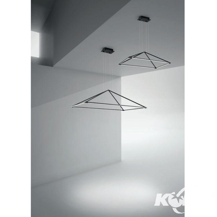 Tubs lampa wisząca 36W LED 3000K 230V matowa czerń