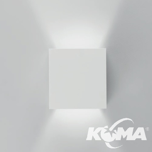 Prime kinkiet 40W LED 4000K 230V matowa biel