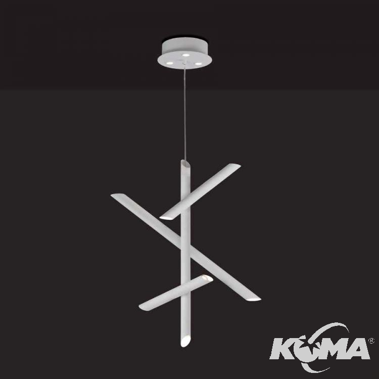 Take lampa wisząca 30W LED 3000K 230V biała