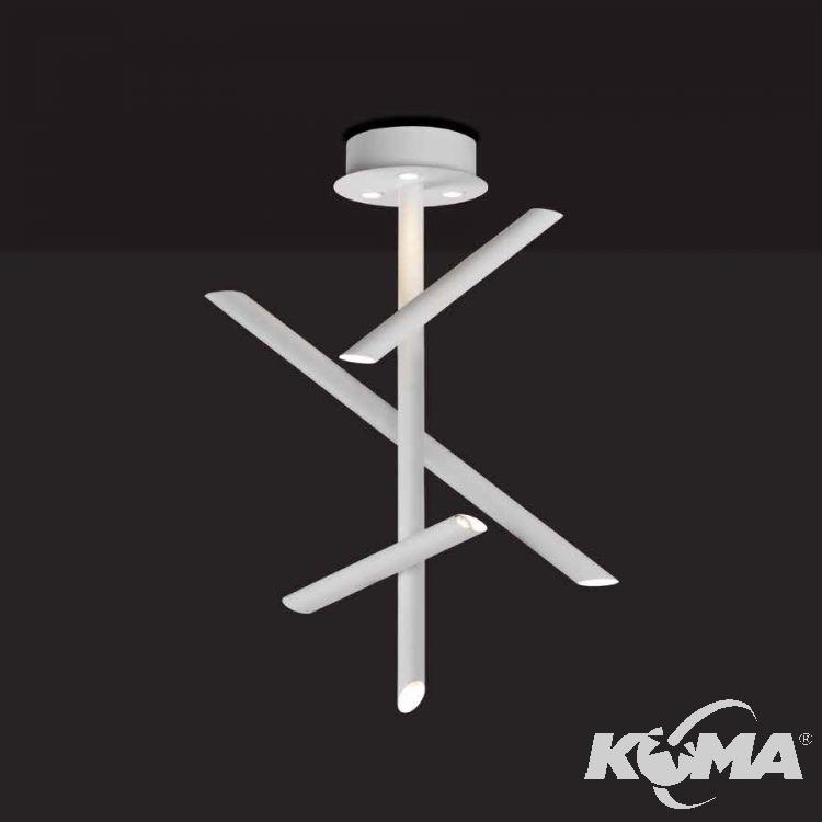 Take lampa sufitowa 30W LED 3000K 230V biała