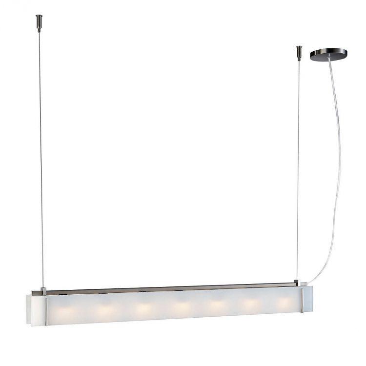 Teres lampa wisząca 7x28W G9 230V matowy chrom