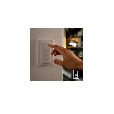 Buratto Hue reflektor-spot 4x10W GU10 230V biały + żarówki LED + ściemniacz