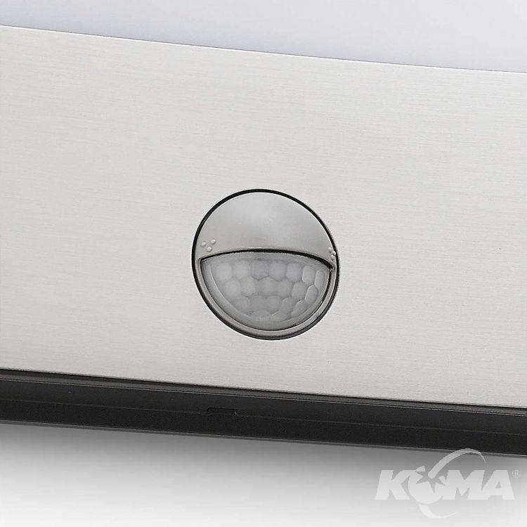 Raccoon kinkiet zewnętrzny z czujnikiem ruchu 3W LED 230V stal nierdzewna