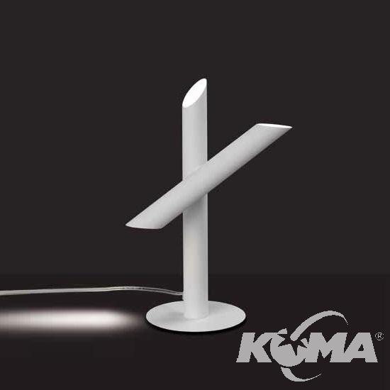 Take lampa stołowa 9W LED 3000K 230V biała