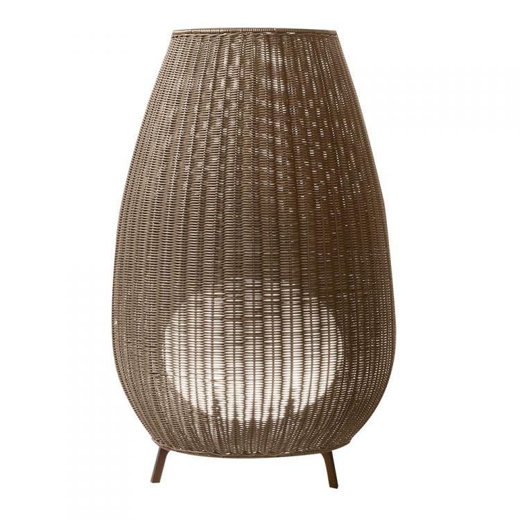 Amphora 01 lampa zewnętrzna 2x22W E27 230V brąz (konstrukcja + abażur)