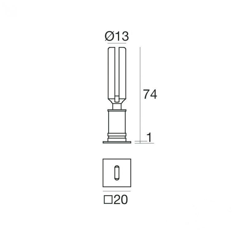 lampa wpuszczana Petit_Q I LED