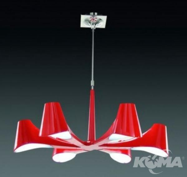 rojo lampa wiszaca Ora MANTRA