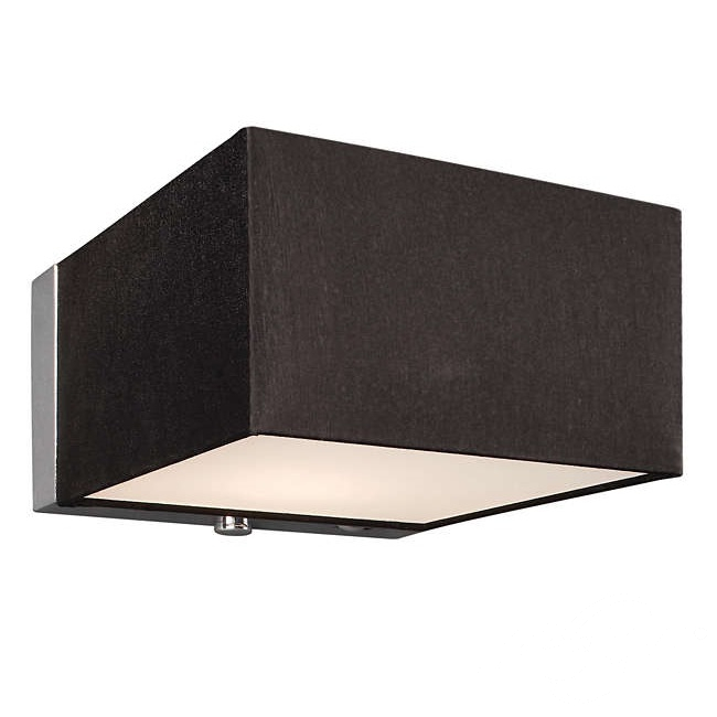 Quadratus kinkiet 1x60W G9 230V czarny