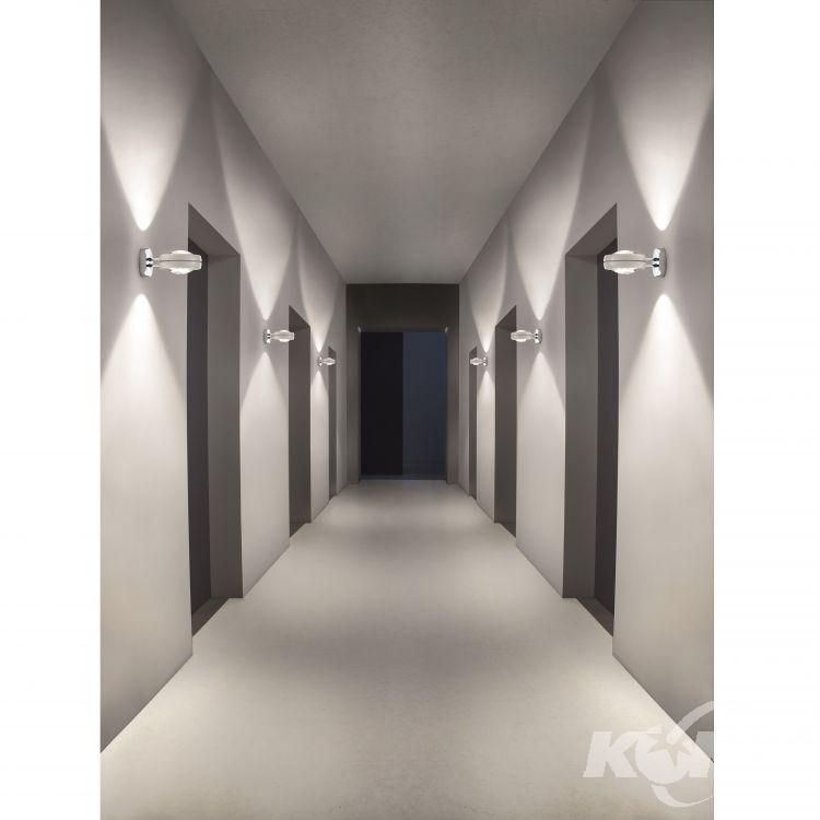 Nautilus kinkiet 2x15W LED 2700K 230V biały