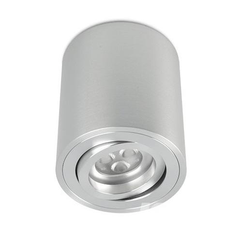 Kup oprawa sufitowa 1x50W GU10 230V aluminium szczotkowane
