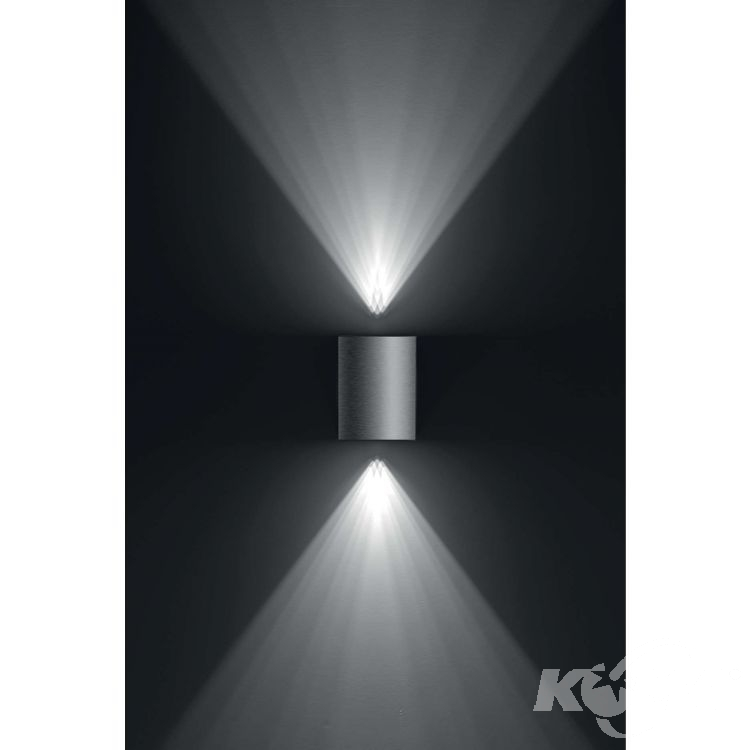 Cistus kinkiet zewnętrzny 2x4,5W LED 230V stal nierdzewna