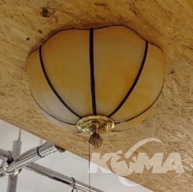 Vigo lampa sufitowa 2x60W E27 230V patyna połysk