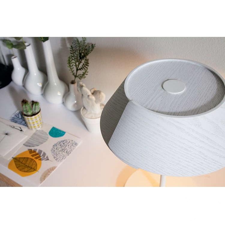 Nonagon lampa stołowa 1x7W LED 230V biała
