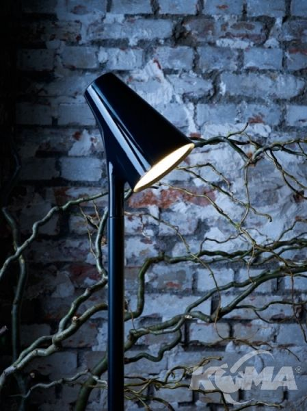 Piculet lampka led 5W antracyt