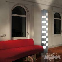 Totem lampa podlogowa r7s/300w+t8/58w+95leds rgb
