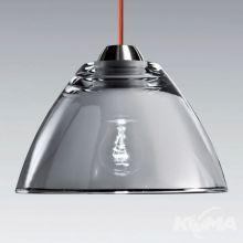 Miroir lampa wisząca 1x100W E27 230V transparentny chrom