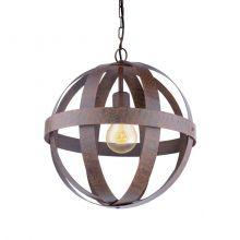 Westbury lampa wisząca 37cm 1x60W E27 230V rdzawa