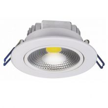 Downlight Cob oprawa wpuszczana 10W LED 3000K 230V
