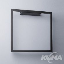 Akira kinkiet 17W LED 3000K 230V czarny